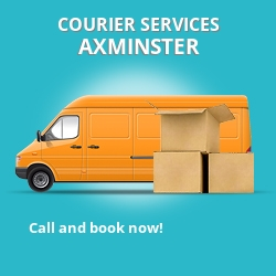 Axminster courier services EX2