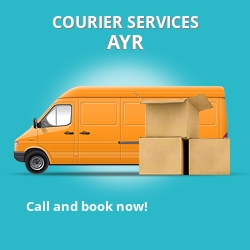 Ayr courier services KA8