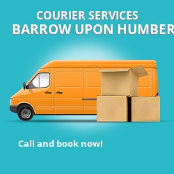 Barrow upon Humber courier services DN15