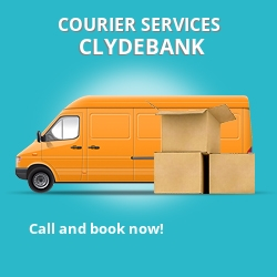Clydebank courier services G81