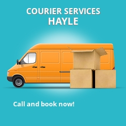 Hayle courier services TR1