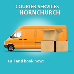 Hornchurch courier services RM12