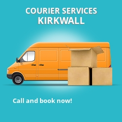 Kirkwall courier services KW15