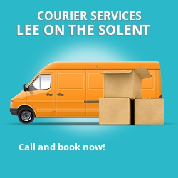 Lee on the Solent courier services PO13