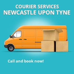 Newcastle upon Tyne courier services NE15