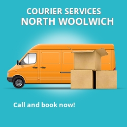 North Woolwich courier services E16