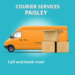 Paisley courier services PA1