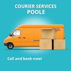 Poole courier services BH15