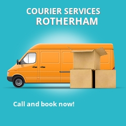 Rotherham courier services S63