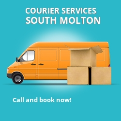 South Molton courier services EX36