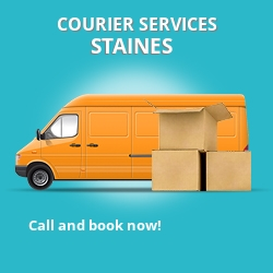 Staines courier services TW19