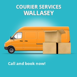 Wallasey courier services CH45