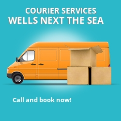 Wells next the Sea courier services IP22
