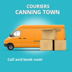 Canning Town couriers prices E16 parcel delivery