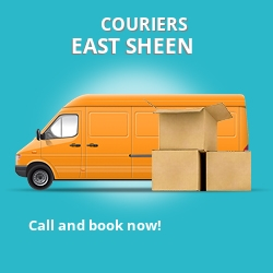 East Sheen couriers prices SW14 parcel delivery