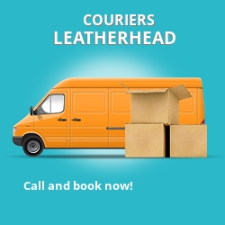 Leatherhead couriers prices KT22 parcel delivery