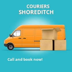 Shoreditch couriers prices E2 parcel delivery