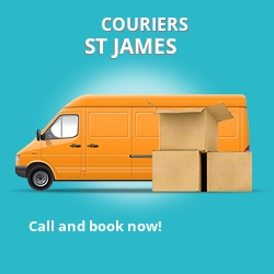 St. James couriers prices SW1 parcel delivery