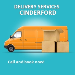 Cinderford car delivery services GL14