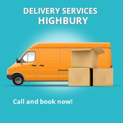 Highbury car delivery services N5
