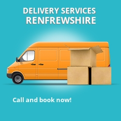 Renfrewshire car delivery services PA4