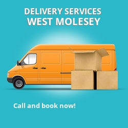 West Molesey car delivery services KT8
