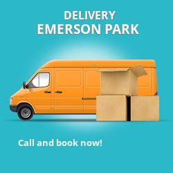 RM11 point to point delivery Emerson Park