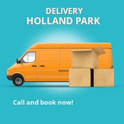 W11 point to point delivery Holland Park
