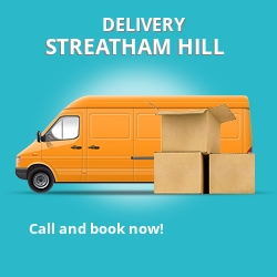 SW2 point to point delivery Streatham Hill