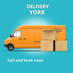 YO8 point to point delivery York