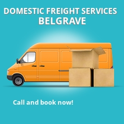 SW1 local freight services Belgrave