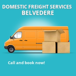 DA17 local freight services Belvedere