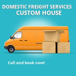 E16 local freight services Custom House
