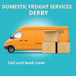 DE22 local freight services Derby