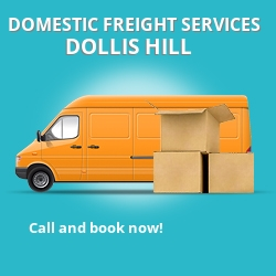 NW2 local freight services Dollis Hill