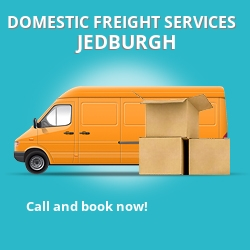 TD8 local freight services Jedburgh