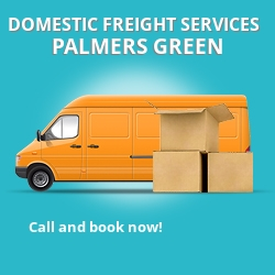 N13 local freight services Palmers Green