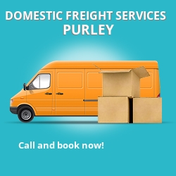 CR8 local freight services Purley