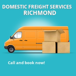 TW9 local freight services Richmond