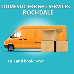OL16 local freight services Rochdale