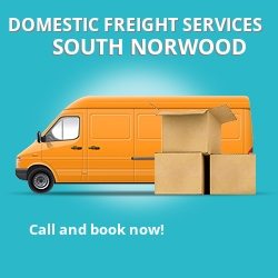 SE25 local freight services South Norwood