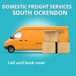RM15 local freight services South Ockendon