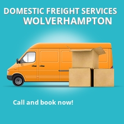 WV11 local freight services Wolverhampton