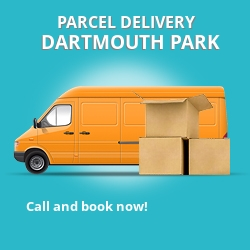 NW5 cheap parcel delivery services in Dartmouth Park