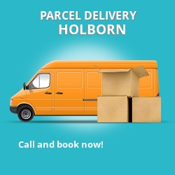 WC2 cheap parcel delivery services in Holborn