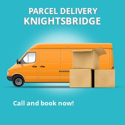 SW1 cheap parcel delivery services in Knightsbridge