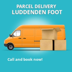 HX2 cheap parcel delivery services in Luddenden Foot