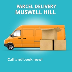 N10 cheap parcel delivery services in Muswell Hill