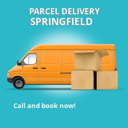 B13 cheap parcel delivery services in Springfield