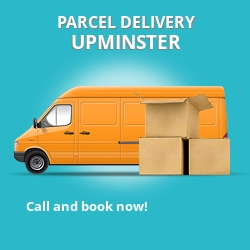 RM14 cheap parcel delivery services in Upminster